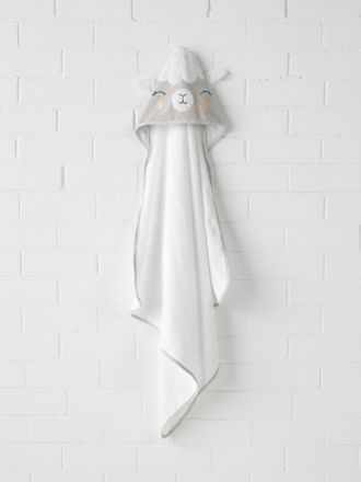 Lil' Llama Hooded Bath Towel