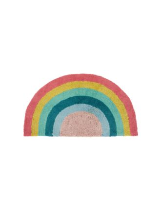 Rainbow Magic Pink Floor Mat