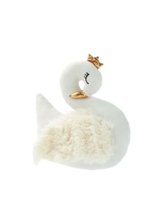 Sleeping Swan Novelty Cushion
