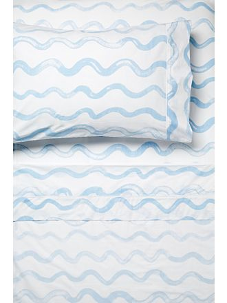 Squiggle Blue Sheet Set