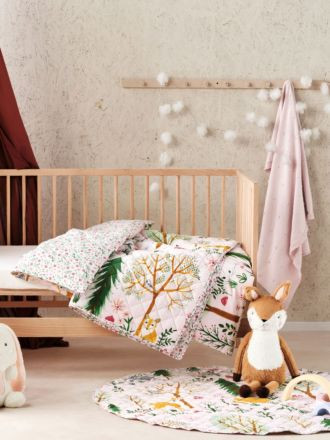 Woodlandia Cot Coverlet