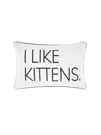 I like Kittens Cushion 35x55cm