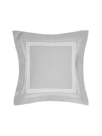 Pembroke Silver/White Cushion 45x45cm