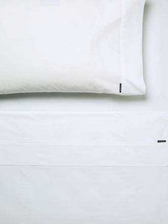 Remo White Fitted Sheet 50cm