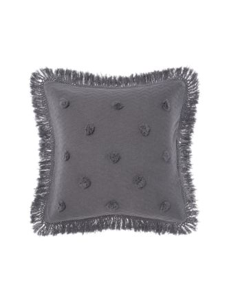 Adalyn Charcoal European Pillowcase