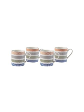 Aiden 4-Piece Mug Set