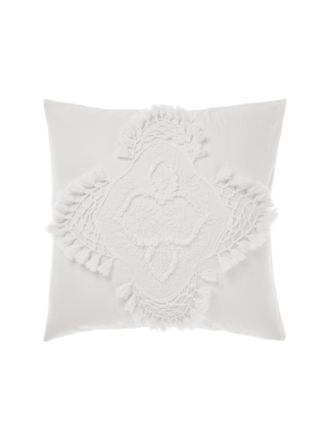 Alli White European Pillowcase