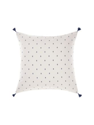 Anika Blue European Pillowcase