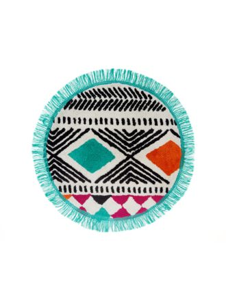 Barbuda Round Bath Mat