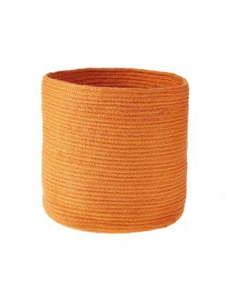 Belize Orange Storage Basket