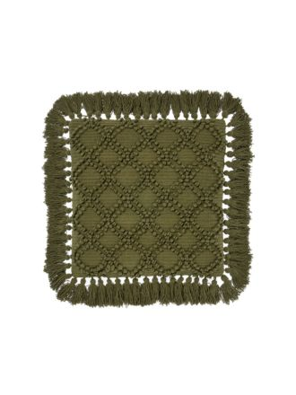 Circlet Olive Cushion 48x48cm