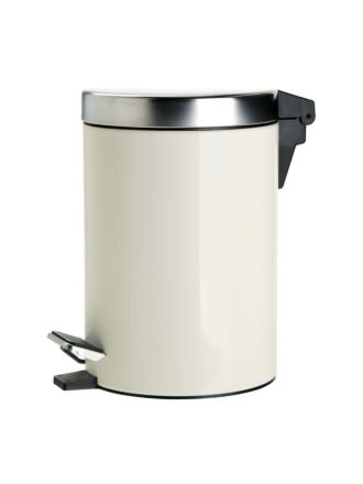 Stainless Steel Tidy Bin Natural