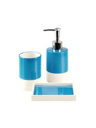 Cruz Blue Bathroom Collection