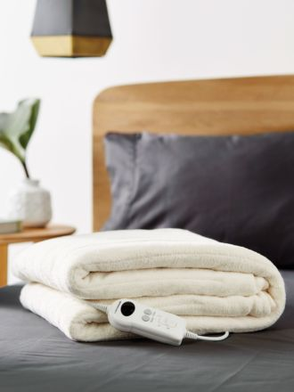 Plush Electric Heated Throw