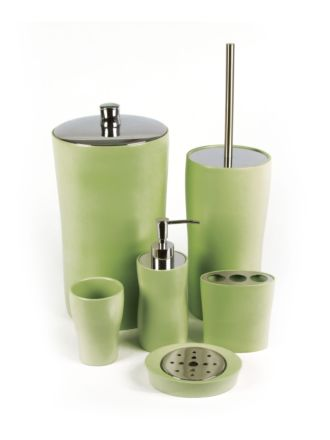 Ellipse Green Bathroom Collection