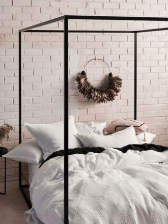 Elysian White Quilt Cover Set