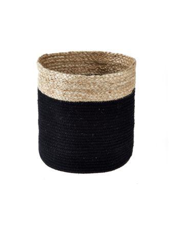 Equador Black Storage Basket