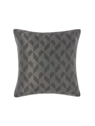 Everett Charcoal European Pillowcase