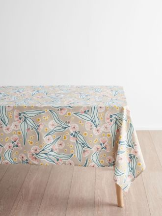 Evie Natural Tablecloth