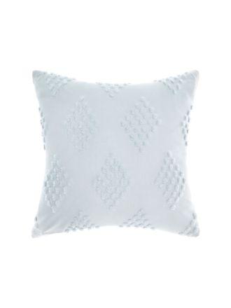 Fawkner Misty Blue Cushion 50x50cm