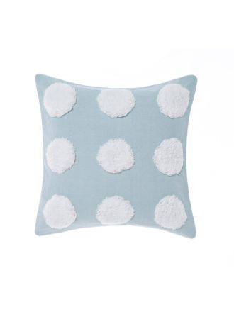 Haze Blue/White Cushion 45x45cm
