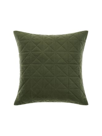 Heath Olive European Pillowcase