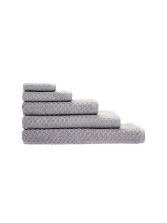 Jordan Spot Silver Towel Collection