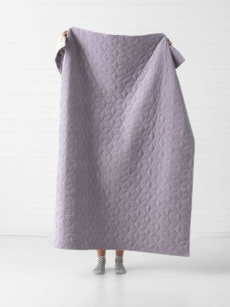Kew Lavender Throw