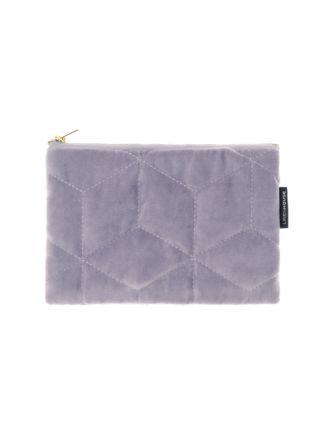 Kew Lavender Zipper Pouch