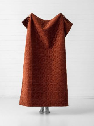 Kew Rust Throw