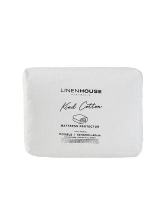 Kind Cotton Mattress Protector - 200 GSM