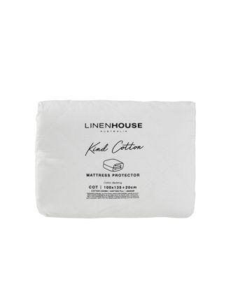 Kind Cotton Cot Mattress Protector