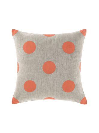 Kyneton Coral Cushion 45x45cm
