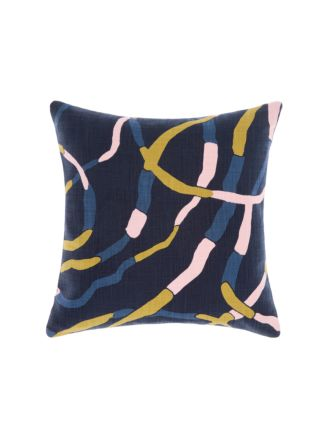 Lakebed Indigo Cushion 50x50cm