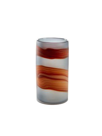 Larimar Orange Vase 26cm