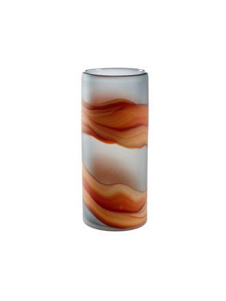 Larimar Orange Vase 32cm