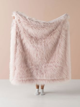 Lark Pink Throw