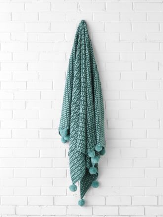 Loni Spruce Throw