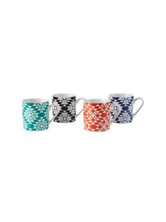 Marta 4-Piece Mug Set