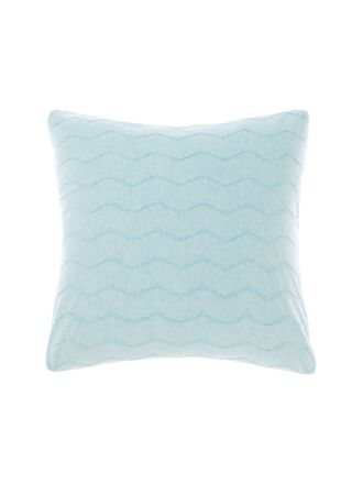 Mickael Blue European Pillowcase