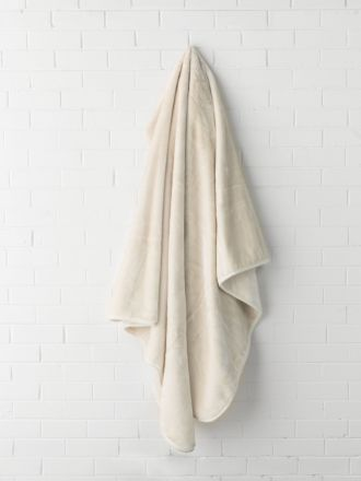 Mink Ivory Blanket