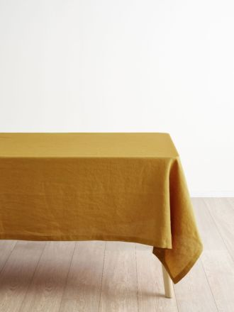 Nimes Chai Linen Tablecloth