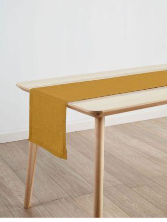 Nimes Chai Linen Table Runner