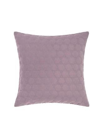 Nimes Elderberry Linen Cushion 50x50cm