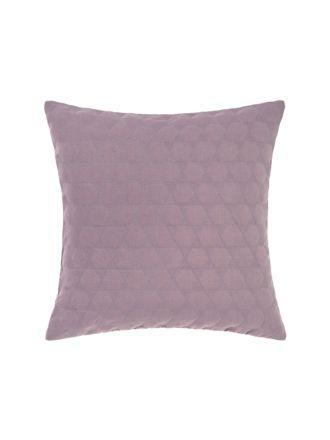 Nimes Elderberry Linen Cushion 50x50cm