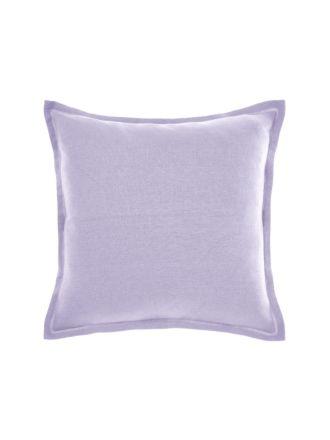 Nimes Lilac Linen Tailored Cushion 48x48cm