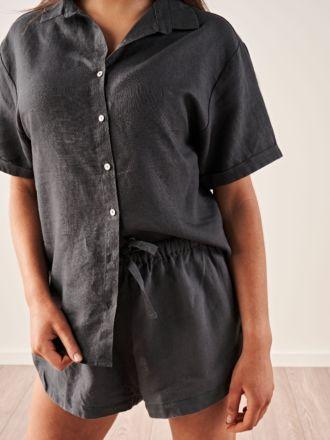 Nimes Magnet Linen Shirt
