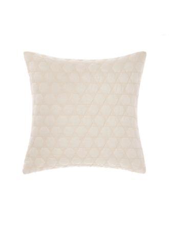 Nimes Peach Linen Cushion 50x50cm