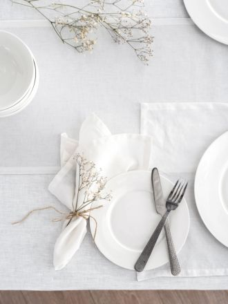 Nimes White Placemat