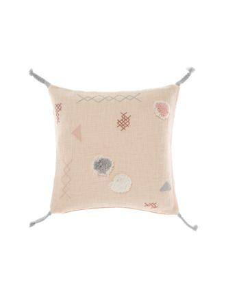 Otis Peach Cushion 50x50cm